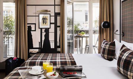 Superior Doppelzimmer mit Balkon - Hotel Monsieur - Paris
