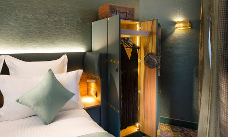 Chambre Twin - Hôtel Whistler - Paris