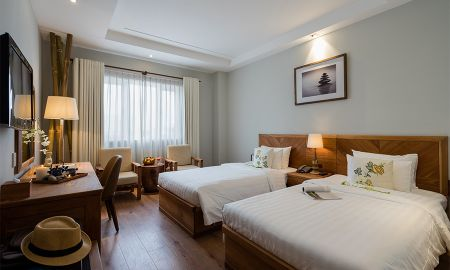 Chambre Deluxe Premium - Silverland Yen Hotel - Hô Chi Minh