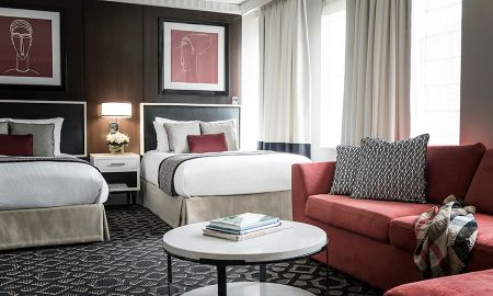 Quarto Luxury com 2 Camas de Casal - Sofitel Lafayette Square Washington DC - Washington