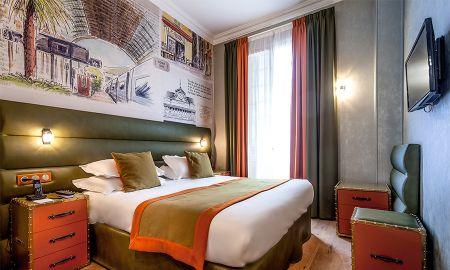Chambre Familiale Vue Jardin - Hôtel Nice Excelsior - Nice