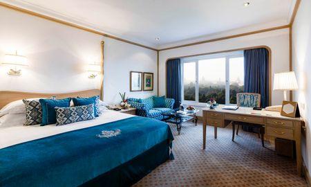 Номер Делюкс с кроватью размера king-size - Вид на город - Taj Mahal Hotel New Delhi - Delhi