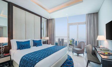 Suite una Camera - Vista Burj Khalifa - Damac Maison Royale The Distinction - Dubai