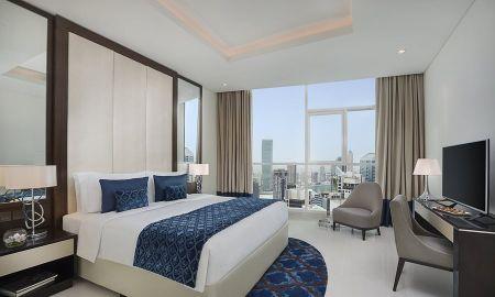 Suite una Camera - Vista Città - Damac Maison Royale The Distinction - Dubai