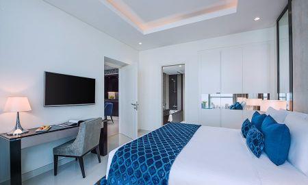 Suite une Chambre - Vue Fontaine et Burj Khalifa - Damac Maison Royale The Distinction - Dubai