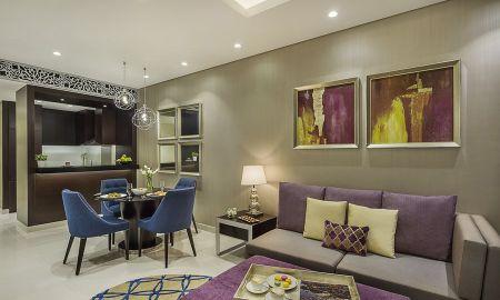 Suite due Camere - Vista Città - Damac Maison Royale The Distinction - Dubai