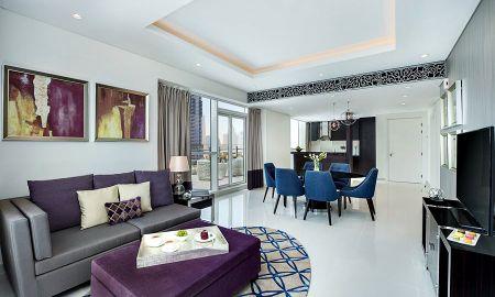Suite Trois Chambres - Vue Burj Khalifa - Damac Maison Royale The Distinction - Dubai
