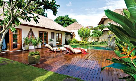 Ein Schlafzimmer Deluxe mit Pool - Belmond Jimbaran Puri - Bali