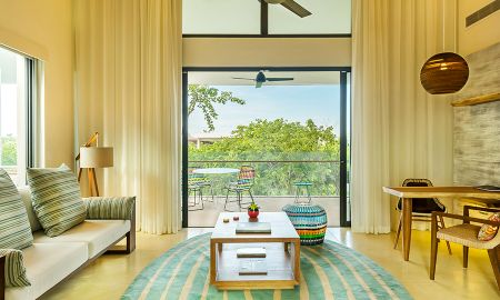 Suite mit Blick auf Lagune - Andaz Mayakoba - A Concept By Hyatt - Playa Del Carmen