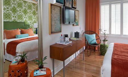 Standard Double Room avec deux Lits Doubles - Circa 39 Hotel Miami Beach - Miami