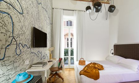 Deluxe Zimmer mit Balkon - Boutique Centrale Palace - Rom