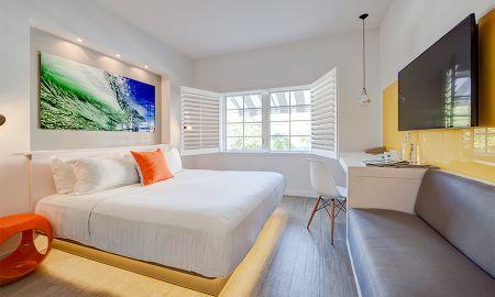 Chambre Deluxe Double avec 2 Lits Doubles - Eurostars Vintro Hotel - Miami