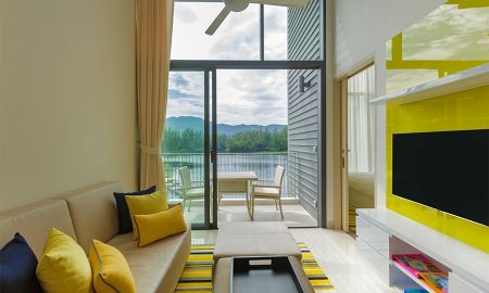 Loft Suite Un Dormitorio con vista a la laguna - Cassia Phuket - Phuket