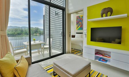 Suite un Dormitorio con Vista a la Laguna - Cassia Phuket - Phuket