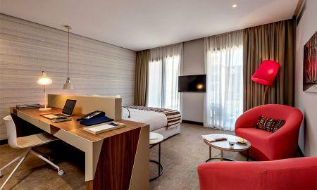 Premium Zimmer mit Terrasse - Radisson Blu Marrakech, Carré Eden - Marrakesch
