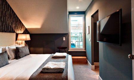 Chambre Double Mansardée - Vue sur la Ville - Dear Lisbon - Gallery House - Lisbonne