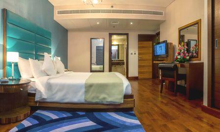Appartement Deluxe 3 Chambres - Vue sur la Burj Khalifa - City Premiere Hotel Apartments - Dubai