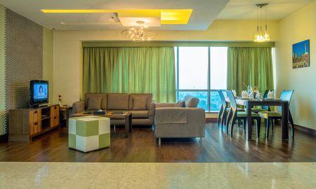 Appartement Deluxe Une Chambre - Vue sur la Route Sheikh Zayed - City Premiere Hotel Apartments - Dubai