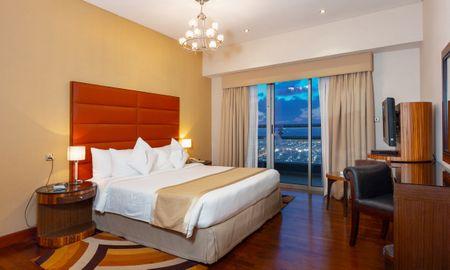 Appartement Deluxe 2 Chambres - Vue sur la Burj Khalifa - City Premiere Hotel Apartments - Dubai