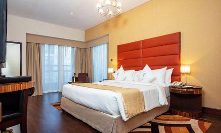 Appartement Deluxe 2 Chambres - Vue sur la Route Sheikh Zayed - City Premiere Hotel Apartments - Dubai