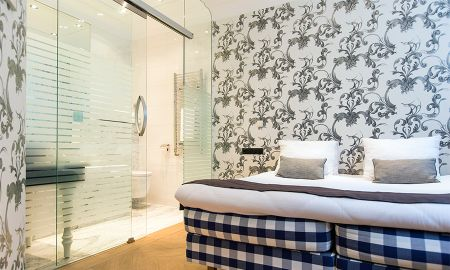 Deluxe Room - Souterrain - Amsterdam Canal Hotel - Amsterdam
