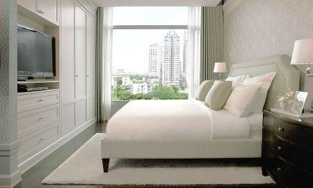 Suite Quarto Único - Vista Cidade - Oriental Residence Bangkok - Bangkok
