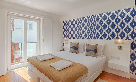 Chambre Double - Vue Jardin - Dear Lisbon - Charming House - Lisbonne