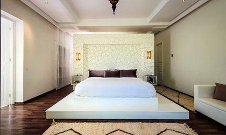 Junior Suite - Gartenblick - La Maison Blanche - Marrakesch