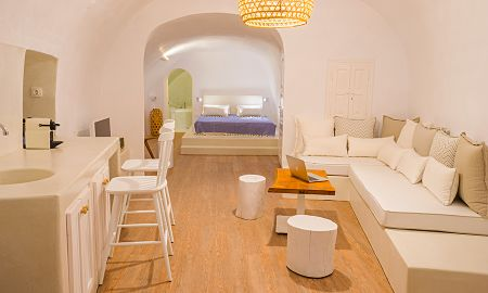 Suite Executive dos habitaciones - Vista Mar - Canvas Suites - Santorini