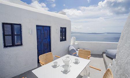 Suite una Habitación - Vista Mar - Bañera de hidromasaje - Canvas Suites - Santorini