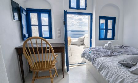 Suite Doble - Vista Mar - Canvas Suites - Santorini