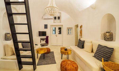 Suite Dos Habitaciones - Vista Mar - Bañera de hidromasaje - Canvas Suites - Santorini