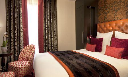 Classic Doppelzimmer - Hotel Le Petit Paris - Paris