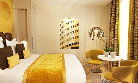 Deluxe Doppelzimmer - Hotel Le Petit Paris - Paris