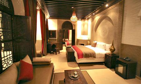 Chambre Deluxe King - Riad Omri - Marrakech