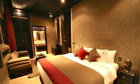 Chambre Deluxe Double - Riad Omri - Marrakech