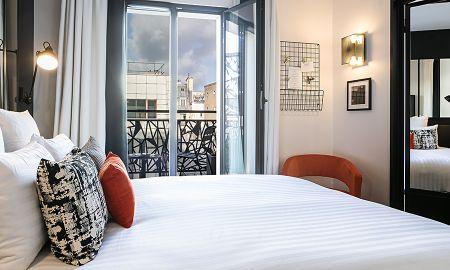 Chambre Cosy - Balcon - Laz' Hotel Spa Urbain Paris - Paris