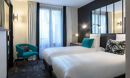 Уютный номер - Laz' Hotel Spa Urbain Paris - Paris