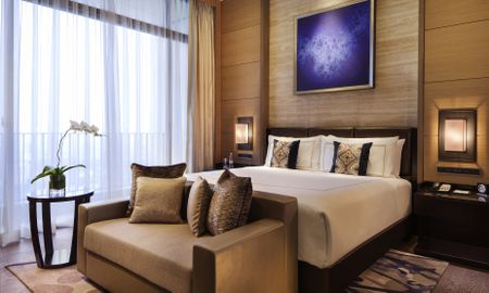 Suíte Signature Fairmont Gold 1 Quarto - Fairmont Jakarta - Jacarta