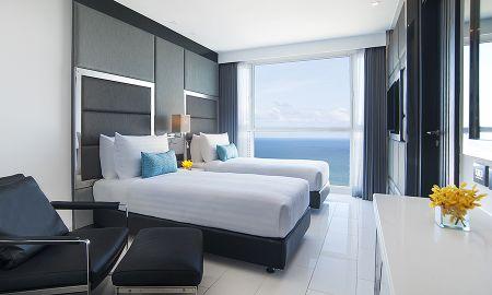 Superior Twin room - Ocean facing - Amari Residences Pattaya - Pattaya