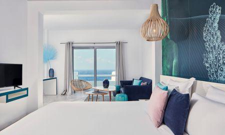 Deluxe Suite - Sea View - Kouros Boutique Hotel & Suite - Mykonos