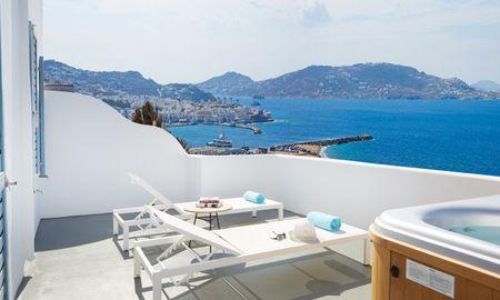 Suite Sea View with Outdoor Jacuzzi - Kouros Boutique Hotel & Suite - Mykonos