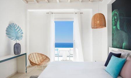 Classic Double Room - Sea View - Kouros Boutique Hotel & Suite - Mykonos