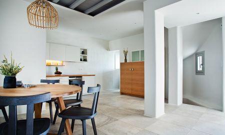 Villa Quatre Chambres - Vue Mer avec salle de bain privée à l'extérieur hot tub – M Villa THREE - M - Mykonos Villas - Mikonos