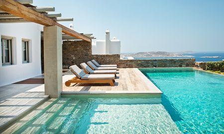 Villa Quatre Chambres - Piscine Privée - M - Mykonos Villas - Myconos