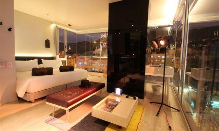 L - Suite Junior - The Click Clack Hotel Bogota - Bogota