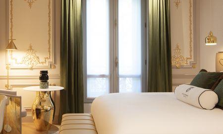 Chambre Bowmann Vue Jardin - Hotel Bowmann - Paris