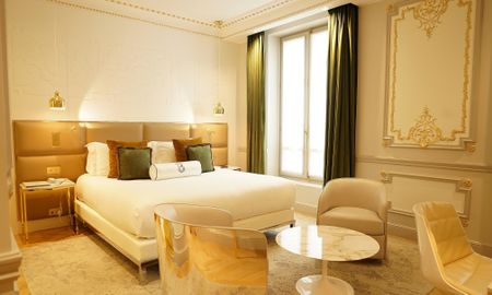 Chambre Hausmann Deluxe - Hotel Bowmann - Paris