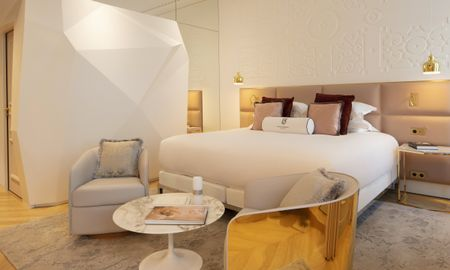 Chambre Hausmann Prestige - Hotel Bowmann - Paris