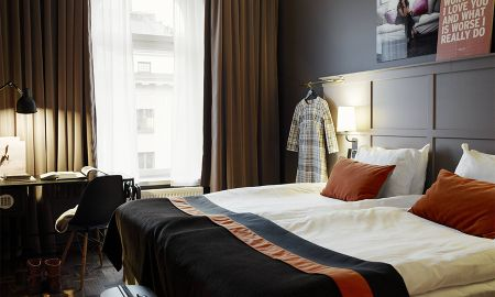 Economy Single Zimmer - Scandic Grand Central - Stockholm